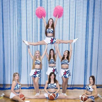 Okładka Lutowa - King Wilki Morskie Cheerleaders