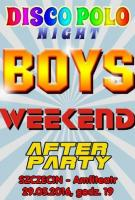 Boys, Weekend, After Party